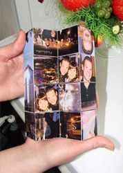Фотография из кубиков