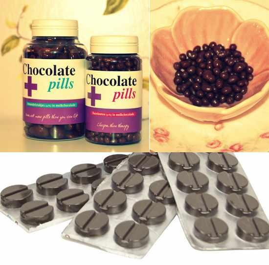 Шоколадные таблетки счастья