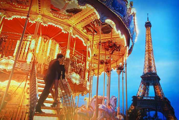 Поездка в Париж с любимой
