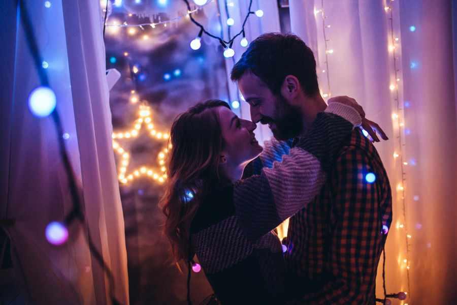 Романтичные новогодние подарки любимому