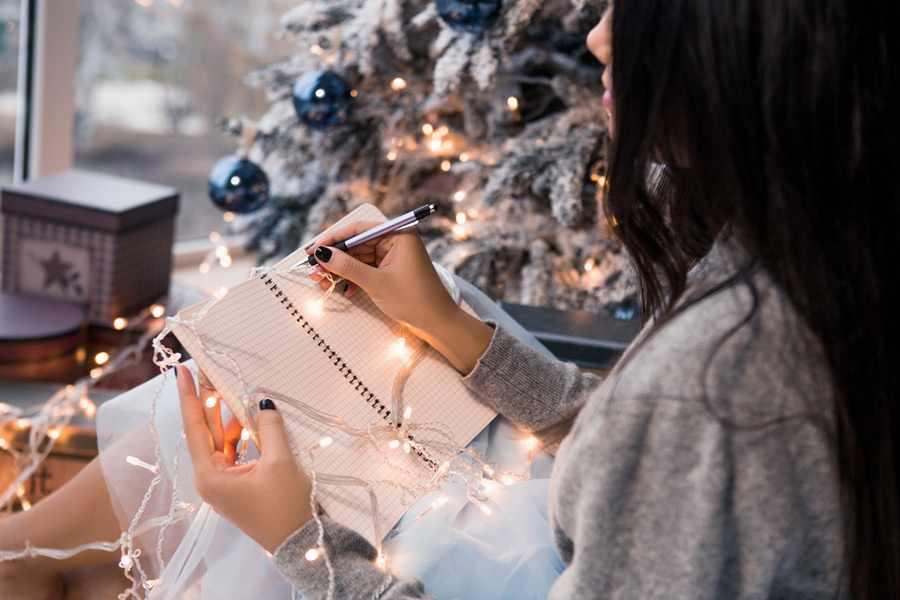 Пишем письмо с желанием Деду Морозу