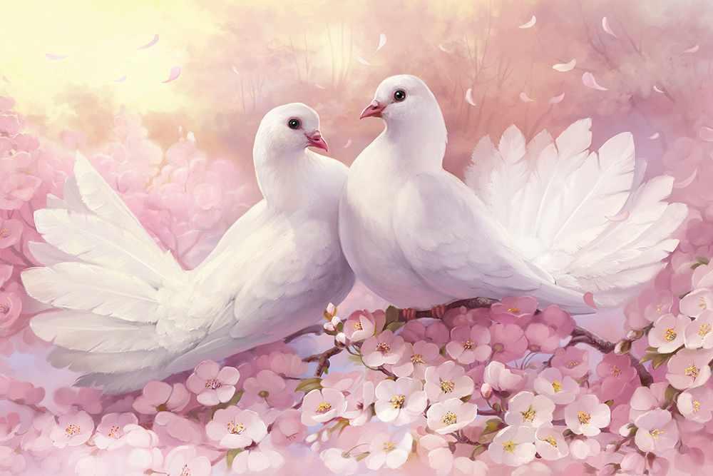 Голуби — символ любви и верности